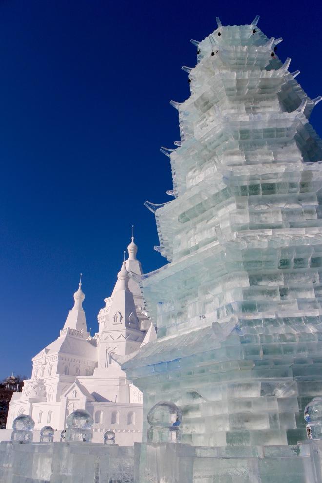 Harbin Ice Pagoda
