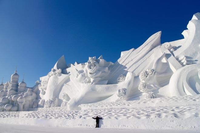 Harbin Snow Monolith