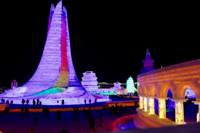 Harbin Ice Tower