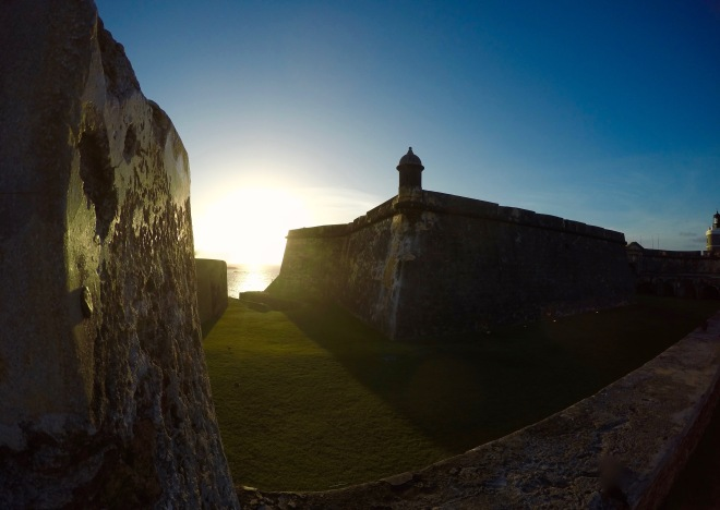 Sunset at El Morro