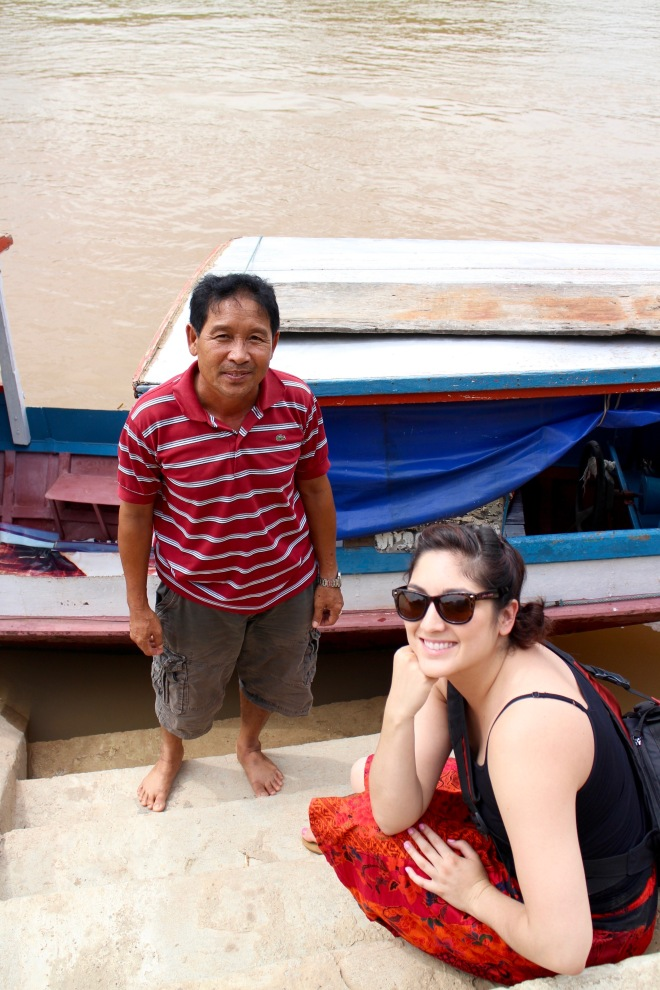 Laotian River Captain