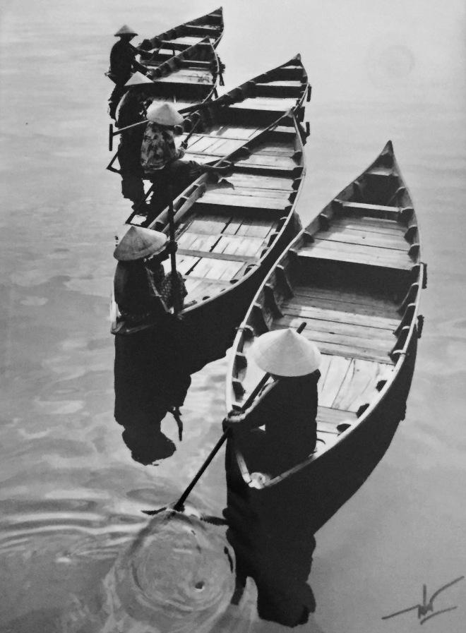Fishing Boats by Mai Loc