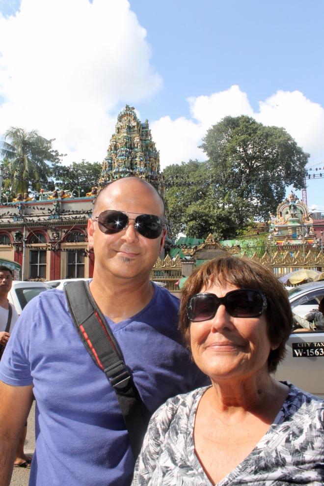 Yangon with Mom