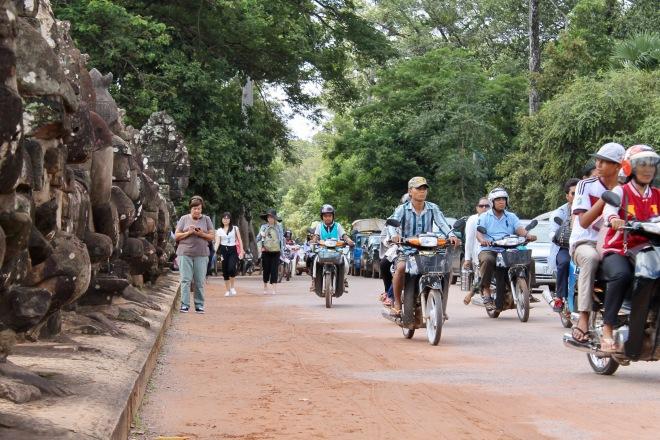 Mom in Angkor