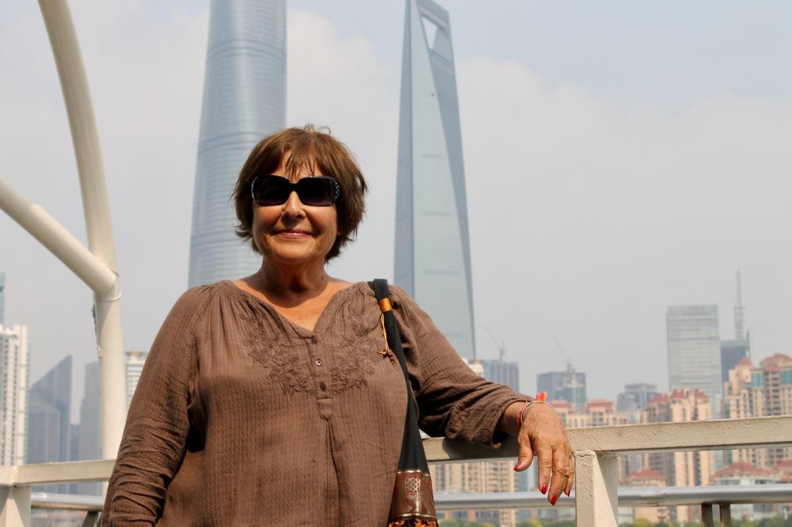 Mom in Shanghai