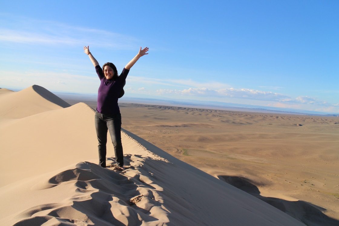 H at the Top of the World Gobi