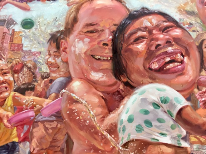 Songkran Painting