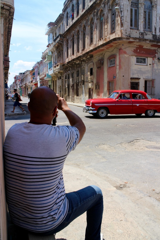 J Shooting the Streets of Havana