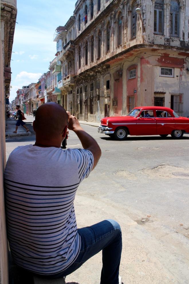 J Shooting the Streets of Havana