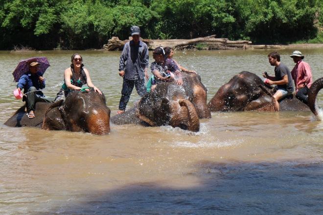 Us in Luang Prabang