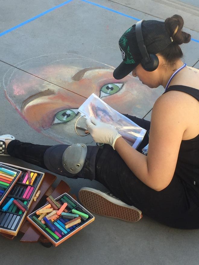 Chalk Walk Artist