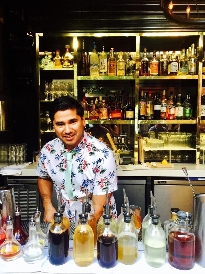 Magnolia House bartender