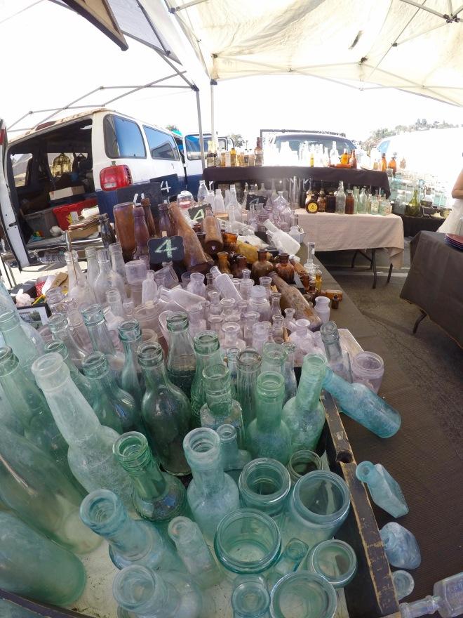 Rose Bowl Vintage Glass