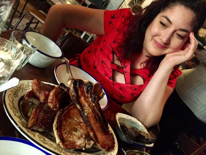 Hilcia Pondering Meat