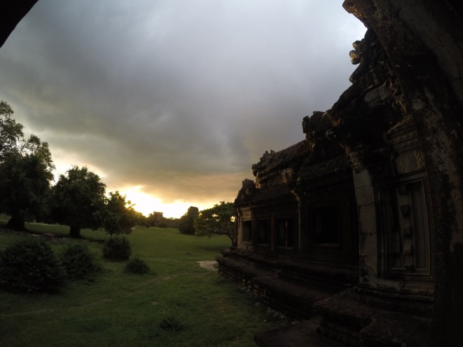 Storm Over Angkor