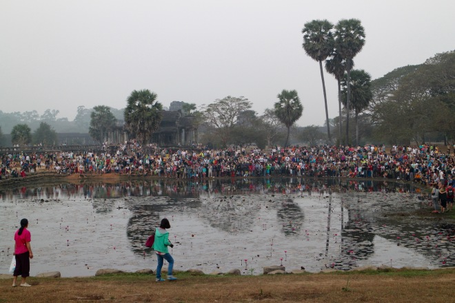 Sunrise Crowd at Angkor