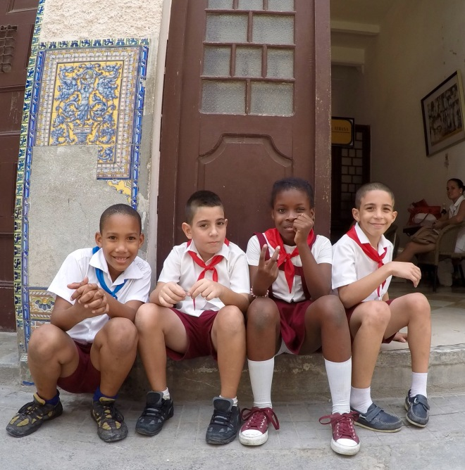 Cuban School Children