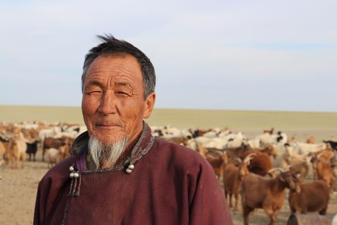 Gobi Goat Herder