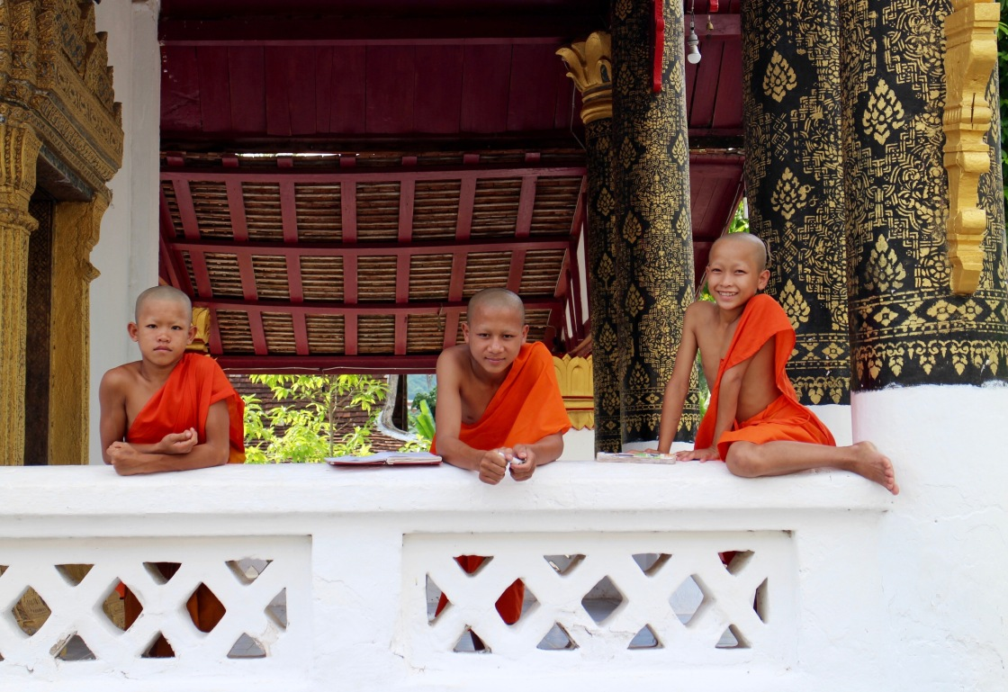 Laotian Novice Monks