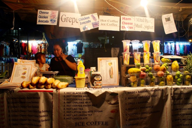 Luang Prabang Food Stall