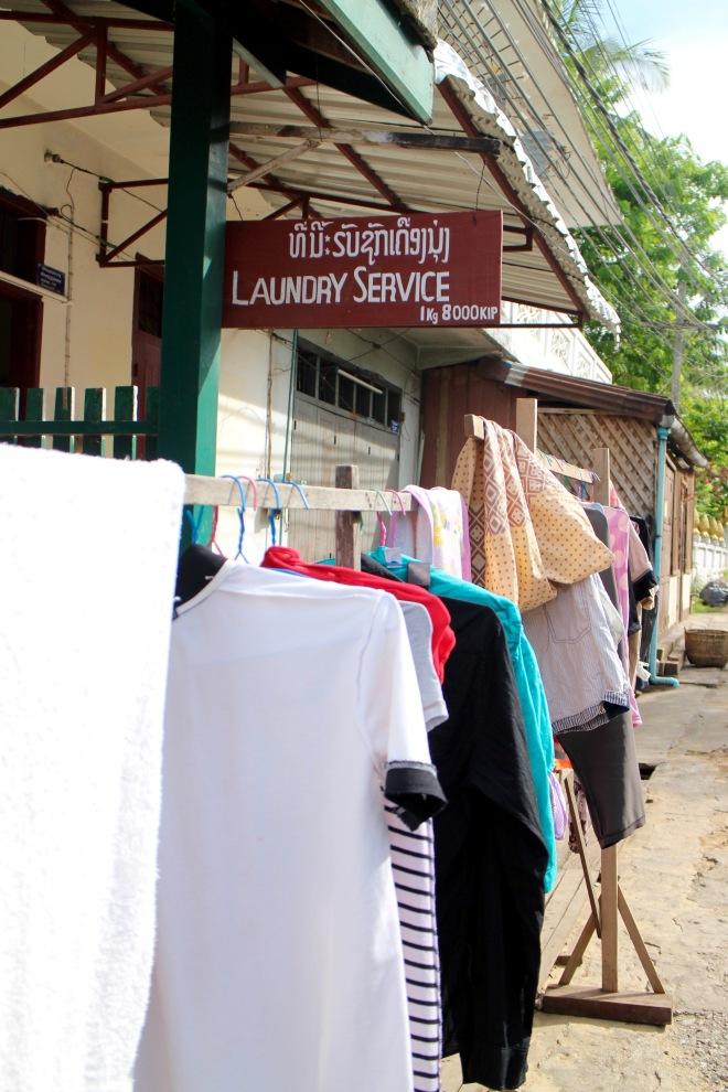 Local Luang Prabang Laundry