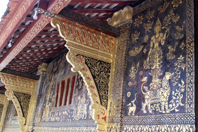 Laotian Temple Detail