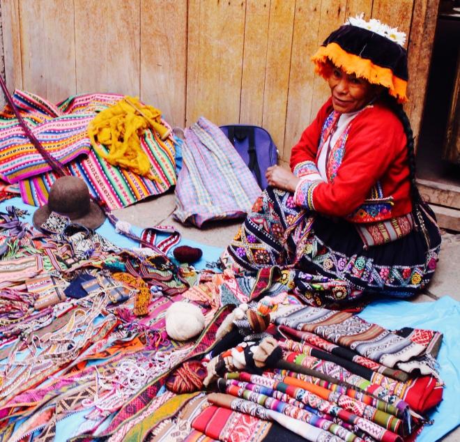 Incan Vendor