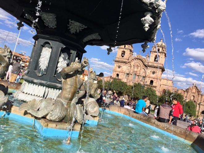 Cusco Town Square