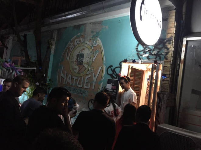 Havana Social Entrance