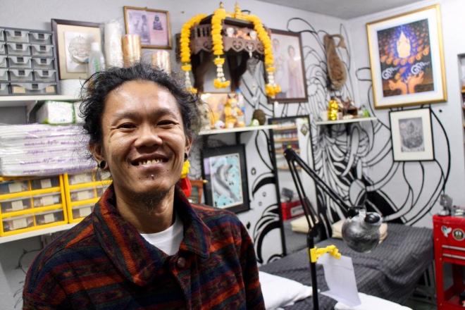 Chris in Studio