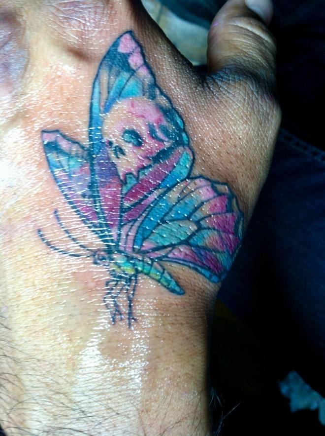 Jameel's Butterfly Tattoo