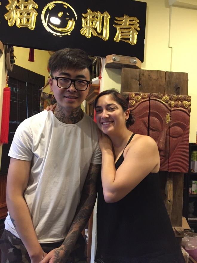 Yi Xiu and Hilcia