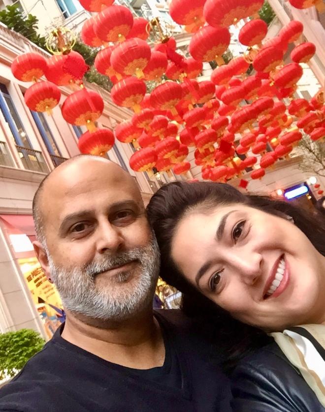 Hilcia and Jameel in HK